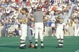 Conversation Between Referees During Army Football Game, West Point, NY Photographic Print