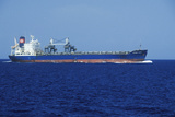 The Probo Baro Freighter, Off the Coast of Panama Photographic Print