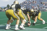 Scrimmage Line During West Point Military Academy Football Game, West Point, NY Photographic Print
