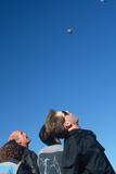 Spectators at Albuquerque International Balloon Festival Photographic Print