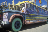 A Hippy Bus in San Francisco, California Photographic Print