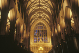 The Interior of the Trinity Church on Wall Street in New York City New York Photographic Print