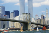 The Class B Tall Ships Sailing from Wall Street, Manhattan to the Brooklyn Bridge, New York Photographic Print