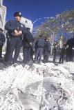 Policemen at Yankees 1998 Ticker Tape Parade, New York City, New York Photographic Print