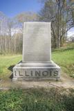 Tombstone of Colonel John Fonda, Civil War Photographic Print