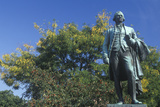 Statue of Alexander Hamilton in Paterson, New Jersey Photographic Print