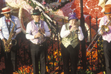 Musicians on Float in Rose Bowl Parade, Pasadena, California Photographic Print