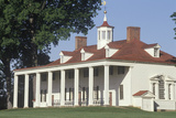 Exterior of Mt. Vernon, Virginia, Home of George Washington Photographic Print