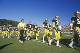 College Football Team Filing onto Field, West Point, NY Photographic Print