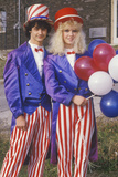 Teenagers Dressed as Uncle Sam, United States Photographic Print