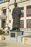 Statue of Christopher Columbus at City Hall in Columbus, Ohio Photographic Print