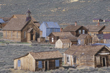 View of Town of Bodie, California, Ghost Town Photographic Print
