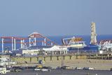 Santa Monica Pier, Santa Monica, California Photographic Print