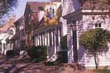 Street Scene of Early Colonial Life in Williamsburg, Virginia Photographic Print