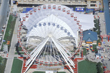 Aerial View of Ferris Wheel, Navy Pier, Chicago, Illinois Photographic Print