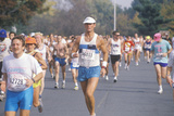 Close-Up of Runner During Marathon, Washington D.C. Photographic Print