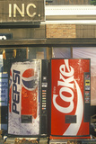 Soft Drink Vending Machines, Manchester, VT Photographic Print