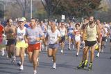 Runners in Marathon, Washington, D.C. Photographic Print