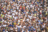 Crowd of Runners, Marathon, Washington, D.C. Photographic Print