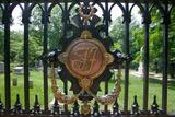 Tj Symbol for Thomas Jefferson in the Monticello Graveyard, Monticello, Charlottesville, Virginia Photographic Print