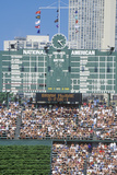 Chicago Cubs Scoreboard at Wrigley Field Photographic Print