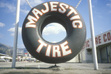 A Tire Store in Southern California Photographic Print