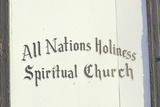 All Nations Holiness Spiritual Church in Denver Colorado Photographic Print