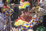 Costumed Musicians in Parade Photographic Print