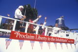Float in July 4th Parade, Pacific Palisades, California Photographic Print
