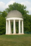 James Madison's Montpelier Mansion and Gazebo in Montpelier Station Va, Orange County Photographic Print