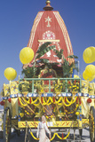 An Indian Festival of Chariots in Santa Monica California Photographic Print