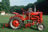 Red Tractor for Sale, Virginia Photographic Print
