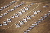 Airplanes at the Davis Montham Air Force Base in Tucson Arizona Photographic Print