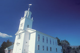 A New England Church in Marlborough Massachusetts Photographic Print