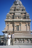 Hindu Shrine in Malibu California Reprodukcja zdjęcia