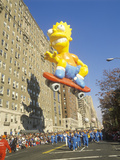Bart Simpson Balloon in Macy's Thanksgiving Day Parade, New York City, New York Photographic Print