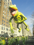 Kermit the Frog Balloon in Macy's Thanksgiving Day Parade, New York City, New York Photographic Print