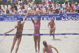Coors Light Women's Professional Volleyball, Final Doubles, Venice, CA Photographic Print