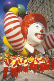 Ronald Mcdonald Balloon in Macy's Thanksgiving Day Parade, New York City, New York Photographic Print