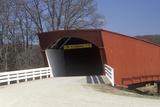 The Hogback Covered Bridge in Madison County, Iowa Photographic Print