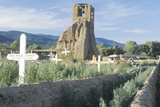 Church Structure in Taos Pueblo New Mexico Photographic Print