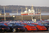Imported Cars in Halifax, Nova Scotia Photographic Print