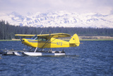 A Seaplane Called the Homer Split in Homer, Alaska Photographic Print