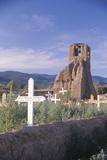 Cemetery in Taos Pueblo, Taos, New Mexico Photographic Print