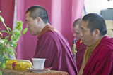 Tibetan Monks at Amitabha Empowerment Buddhist Ceremony, Meditation Mount in Ojai, CA Photographic Print