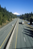 Interstate 5 to Mount Shasta, California Photographic Print