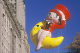 Betty Boop Balloon in Macy's Thanksgiving Day Parade, New York City, New York Photographic Print