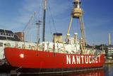 Nantucket Ship in Boston's Inner Harbor, Massachusetts Photographic Print