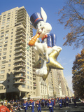 Bugs Bunny Balloon in Macy's Thanksgiving Day Parade, New York City, New York Photographic Print