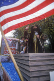Christopher Columbus Float, Columbus Day Parade, New York City, New York Photographic Print